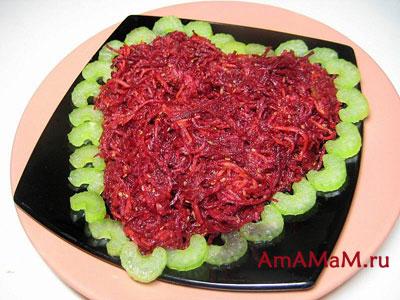Рецепты красивых салатов с фото