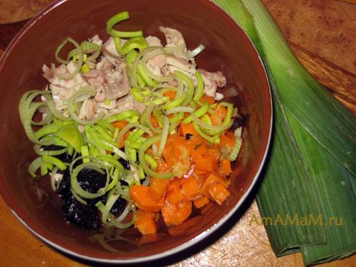 Что сделать из курицы с тыквой - вкусный рецепт салата