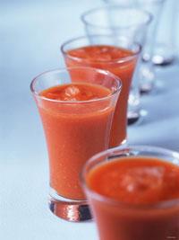 Вкусные рецепты испанской кухни: суп Гаспачо со льдом