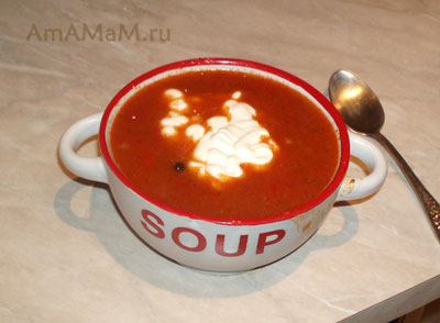 Очень вкусный суп-гуляш на говядине
