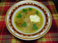 Вкусные рецепты домашних супов на говяжьем бульоне - рассольник с рисом