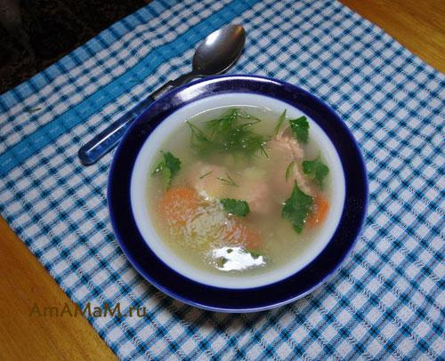 Как сварить суп из красной рыбы - простой рецепт