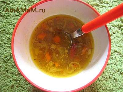 Вкусный домашний куриный суп с пшеничной крупой - острый, жаркий и сытный!