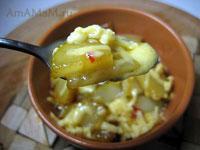 Вкусный пикантный грушевый фруктовый десерт, острый, с кислинкой