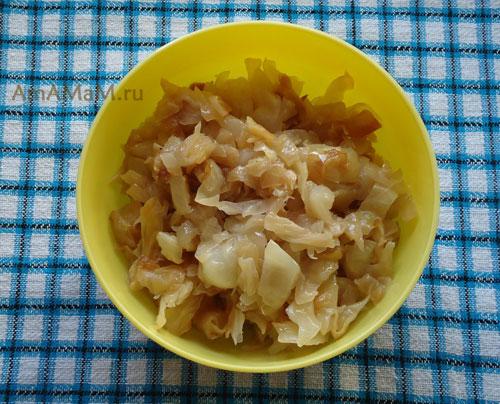 Рецепт приготовления жареной капусты с фото. Очень вкусно!