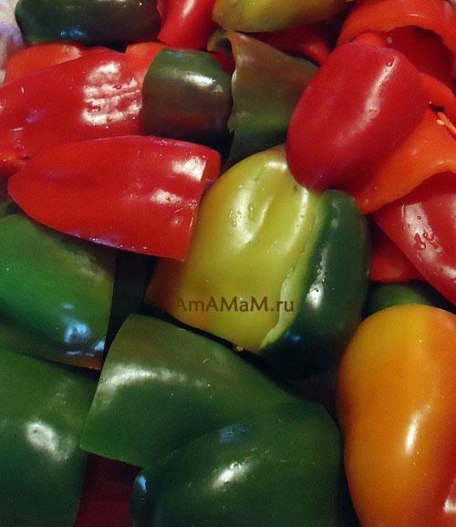 Как заморозить сладкий перец - способ приготовления замороженных овощей