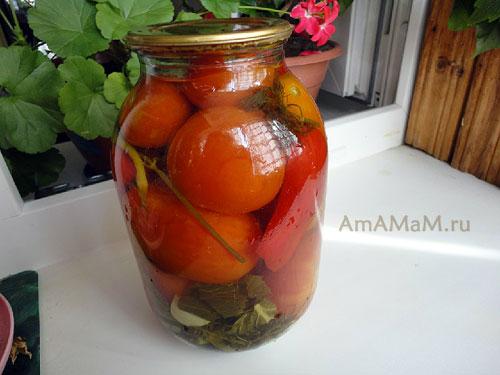 Как заготовить помидоры без стерилизации