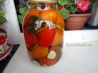 Как консервировать помидоры красиво