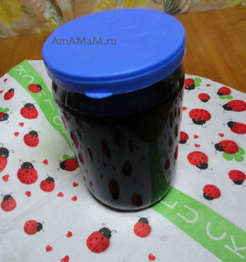 Чем закрыть вишневое варенье - рецепт и фото