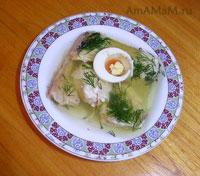 Очень вкусное рыбное заливное из пикши