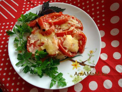 Что сделать из баклажанов и помидоров - рецепт вкусной запеканки!
